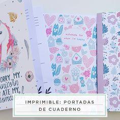 Seis sobres estampados listos para imprimir y utilizar