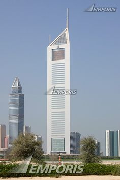 30.  The Emerites Office Tower,  Dubai,  354.60 meters,  54 floors above ground, completed in 2000