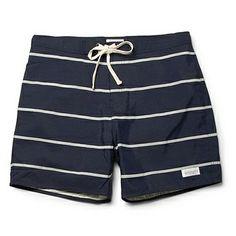 Saturdays Surf NYC Striped Swim Shorts