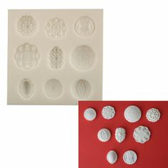Silicone Mold - Buttons - PC-BTTN