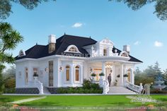 House Design Pictures, Aesthetic Room Decor, Picture Design, Exterior, Dreams, House Styles, Houses, Home, Outdoor Rooms