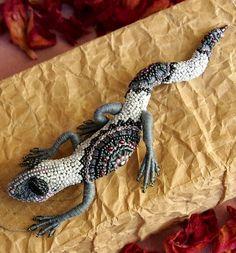 Beautiful beaded dragons by Alena Litvin