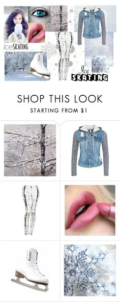 """Ice Skating"" by fangirlx ❤ liked on Polyvore featuring Riedell, NLY Trend, Komar and Hudson Jeans"