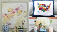 20 DIY Map Home Decor Projects for a Travel-Inspired Interior Who would think that you can actually do a lot of fun home decors for a map?       If you love to travel, then it would be nice to see that in your home. A travel inspired space isn't just beautiful but it will bring o...
