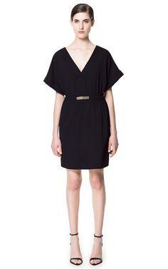 DRESS WITH BUCKLE - Dresses - Woman | ZARA United Kingdom