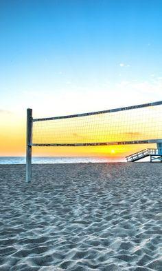 Fondo de pantalla Beach Volleyball 240x400