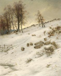+British farquharson | Victorian British Painting: Joseph Farquharson