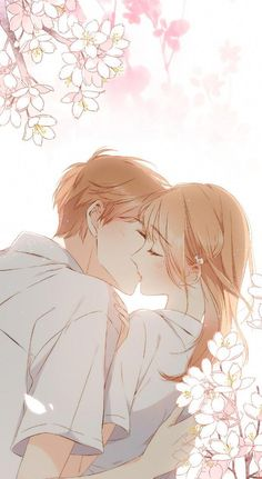 A future where you will only cry for joy . And your smile will . - A future in which you will only cry for joy … And your smile will be … – anime & manga – - Couple Anime Manga, Couple Amour Anime, Anime Couple Kiss, Anime Couples Drawings, Anime Couples Manga, Cute Anime Couples, Anime Guys, Manga Anime, Romantic Anime Couples