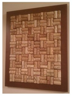 28 Insanely Creative DIY Cork Board Projects For Your Office Cork Board Projects, Diy Cork Board, Cork Bulletin Boards, Wine Craft, Wine Cork Crafts, Wine Bottle Crafts, Wine Cork Frame, Wine Cork Art, Cork Board Wine Corks
