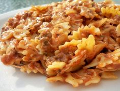 Italian Hamburger Pasta Also known as Johnny Marzetti.