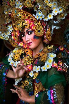 """Portrait Of Balinese Dancer"" by Handi Laksono on 500px"