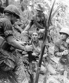 1969 US soldiers, Hamburger Hill, Vietnam
