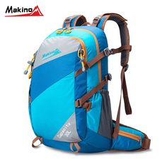 63.78$  Watch here - http://aliizm.worldwells.pw/go.php?t=32767476767 - Makino 30L High Quality Nylon Hiking Bags Men Women's Backpack Damping Relieve Pressure Travel Knapsack Outdoor Riding Rucksack 63.78$