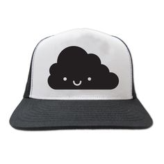 Kawaii cloud trucker cap