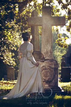 Graveyard styled photo session https://www.facebook.com/PaulaDanielsFineArtBabyPortraiture