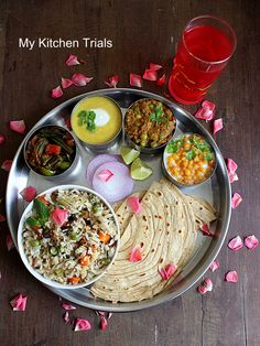 Gujarati thali recipes pinterest gujarati thali recipes and cuisine uttar pradesh awadh mini thali gujarati thalithe commonindian foodsindian recipescharcuterie forumfinder
