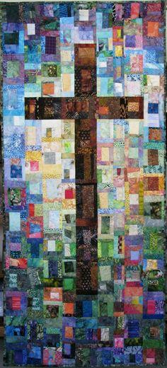 Exuberant Color: Crooked Cobblestones 4 - Cross