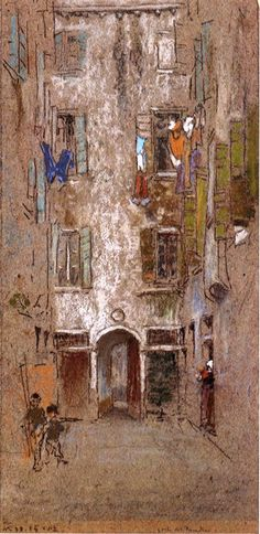 Paradise Court - James McNeill Whistler - WikiPaintings.org
