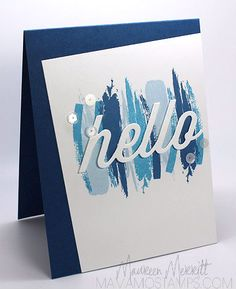 Maureen M - gorgeous card.  Love the colors. . .