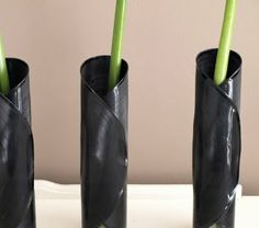 vinyl record vase