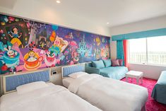 Tokyo Disney Celebration Hotel, the entire photo in the room