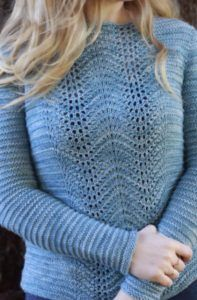 Knitting Pattern for Grand Manon Pullover