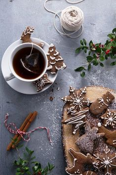 Gluten & Refined Sugar Free Gingerbread Cookies