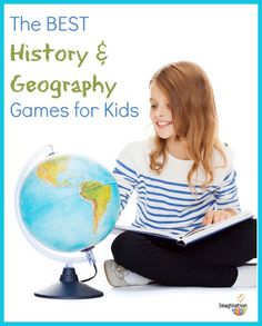 best history and geography games for kids - great list!