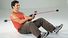 """Übung Workout """"Flexi-Bar-Workout"""" für Bauch - hier Schritt für Schritt das Workout in einzelnen Übungen Fitness Video, Sport Fitness, Health Fitness, Fitness Workouts, Workout Bauch, Bar Workout, Balance Board, Famous Last Words, Fitness Studio"""