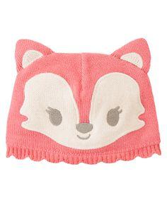 Fox Knit Beanie at Gymboree (Gymboree 0-24m)