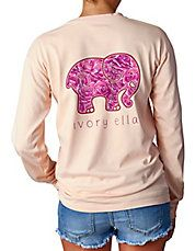 Rose Pigment-Dyed Long-Sleeve T-Shirt