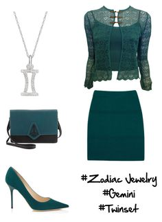 #zodiacjewelry - contest entry by jofobbester on Polyvore featuring polyvore fashion style Christian Dior Diarte Jimmy Choo Danielle Nicole clothing