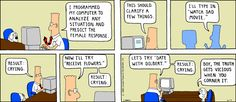 The truth - The Dilbert Strip for June 17, 1990