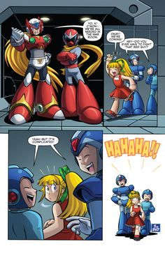 Brotherly Megaman and Megaman X is so cute