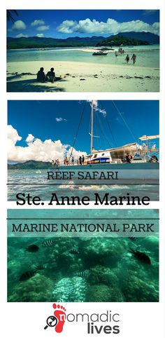 Ste. Anne Marine National Park is the first of 6 marine parks in the Seychelles. A day spent in the park was a life-changing journey.