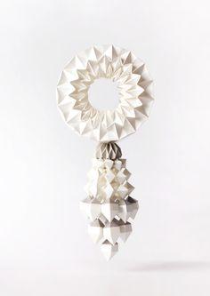 Paper Craft : The Art of Flower Arrangement in Thailand by Wirin Chaowana, via Behance