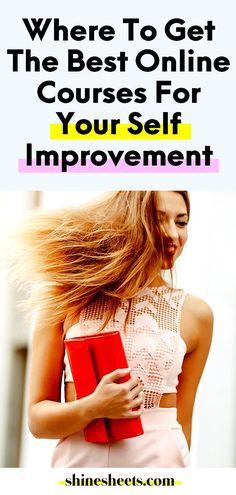 Where To Get The Best Online Courses For Self Improvement Personal Development Skills, Self Development, Best Online Courses, Productive Things To Do, How To Stop Procrastinating, Self Improvement Tips, New Things To Learn, Growth Mindset, Study Tips