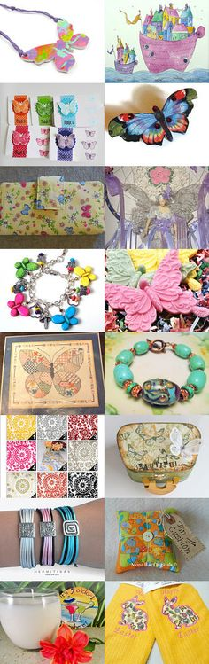 Flutterbys And Other Spring items!! by SiriusFun on Etsy--Pinned with TreasuryPin.com