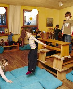 bewegende klas
