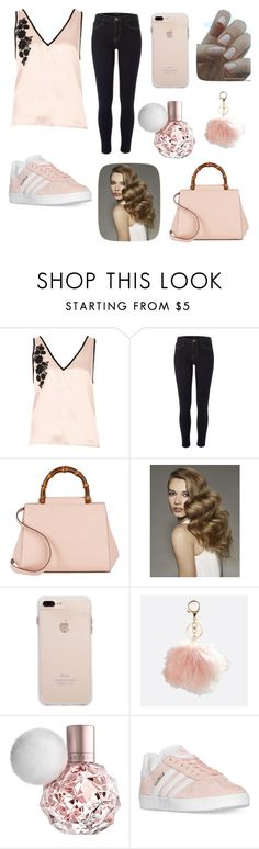 """""""cute😝😝😍"""" by princessmya1360 ❤ liked on Polyvore featuring River Island, Gucci, Avenue and adidas"""