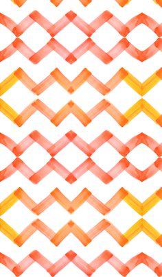 cestlaviv_chevron_citrin fabric by cestlaviv on Spoonflower - custom fabric