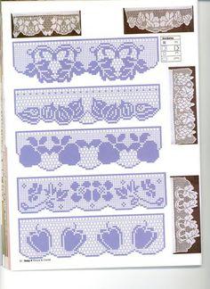 Barrados de Croche: Croche Filet