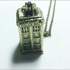 Doctor Who tardis necklace Doctor Who tardis necklace 20 inch chain Jewelry Necklaces