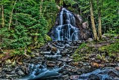 Beautiful HDR photograph of waterfall in Glenns Falls Long Exposure, Urban Landscape, Landscape Photographers, Hdr, Beautiful Landscapes, Most Beautiful, Waterfall, Nature, Photography