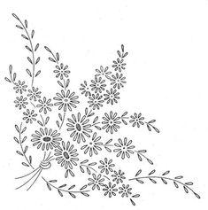 빈티지 꽃바구니.꽃장식 자수 도안 : 네이버 블로그