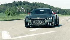Vidéo : l'Audi TT Clubsport Turbo se dévoile et ronronne - http://www.leshommesmodernes.com/video-audi-tt-clubsport-turbo/