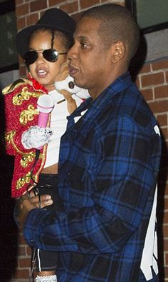 Blue Ivy Dressed As Michael Jackson For Halloween And It Was So Adorable