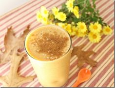 Pumpkin Banana Smoot