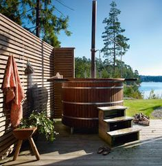 Photo: Sköna Hem  I´m back after a long summer vacation... We haven´t had time to do much work in our cabin this summer - we have spent tim...