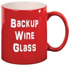 Feel like having a glass of wine or two at the end of the day? Take a look at these funny wine glasses and mugs. We particularly like the whole bottle wine Coffee Wine, Glass Coffee Mugs, Coffee Cups, Tea Mugs, Wine Craft, Wine Bottle Crafts, Funny Wine Glasses, Beer Caps, Wine Quotes